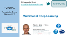 An IDEAI tutorial opens the MultiMedia Modelling Conference 2019