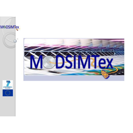 MODSIMTEX. (Coord). Development of a rapid configuration system for textile production machinery based on the physical behaviour simulation of precision textile structure