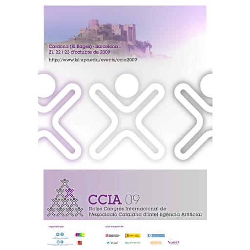 Organización del XII Congreso internacional de la Asociación Catalana de Inteligencia Artificial (CCIA 2009)