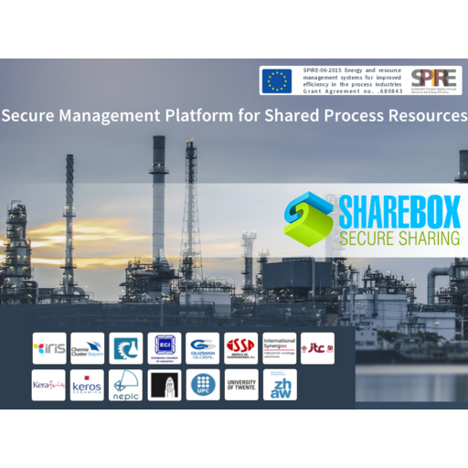 Secure Management Platform for Shared Process Resources (SHAREBOX)